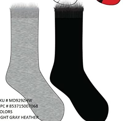 Hot Feet Men's 2 Pack Heavy Thermal Sock