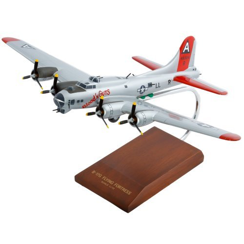 B-17G Fortress (Silver) by Toys and Models