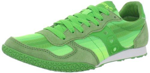 Saucony Originals Women's Bullet Ombre Running Shoe,Green/Citron,5 M (Saucony Originals Bullet)