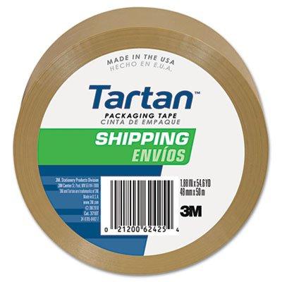 "3710t-6 2""X60yds 2"" X 60 Yds Carton Sealing Tape Tan 6/Pk"