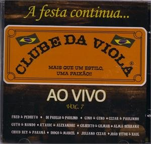 Clube Da Viola Ao Vivo Vol. 7 ()
