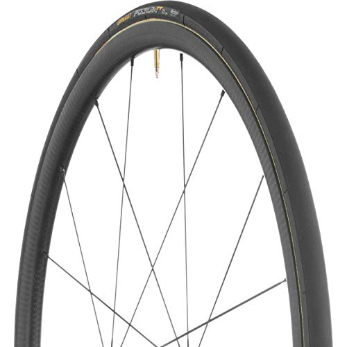 Continental Podium TT Tire - Tubular Black-BW Black Chili, 700c x -