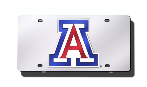 NCAA Arizona Wildcats Laser Cut Auto Tag, - Arizona Tucson In Shopping