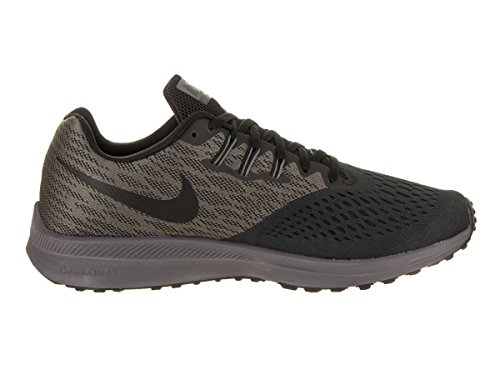 Black Running Zoom 007 Nike Grey Uomo da Winflo Trail Scarpe Dark 4 Anthracite Multicolore wTx6Yxq7