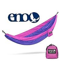 ENO - Hamaca SingleNest de Eagles Nest Outfitters, hamaca portátil para una, púrpura /fucsia