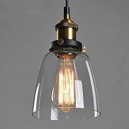 Tulipas de cristal para lamparas de techo