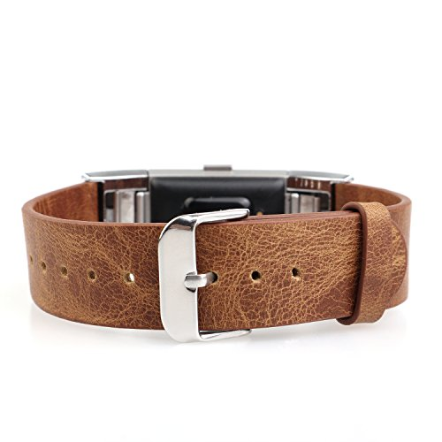 charge2 Leather Replacement Wristband Bracelet