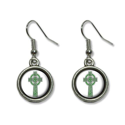 Christian Ireland Novelty Dangling Earrings