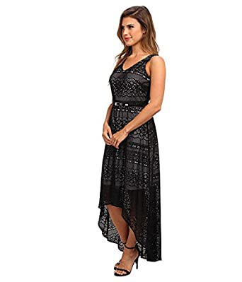 129d5f5e085 Marc New York by Andrew Marc Women s High-Low Lace Maxi Dress MD4L4227