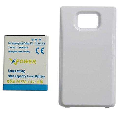 ccab9de4b66 Image Unavailable. Image not available for. Color: X-Power 3600mAh Batería  Extendida con Carcasa Blanca para Samsung Galaxy ...