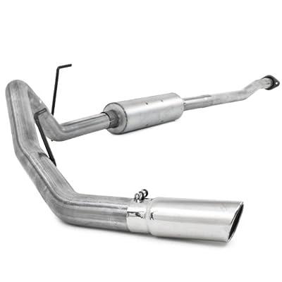 "MBRP S5236AL 3"" Aluminized Steel Single Side Exit Cat-Back Exhaust System"