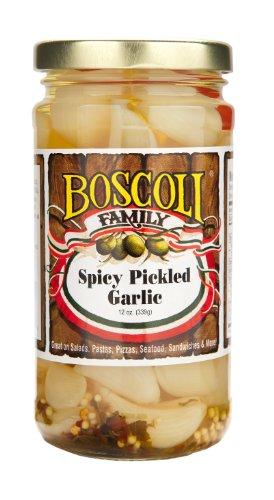 Boscoli Garlic Spicy Pickled, 12 oz