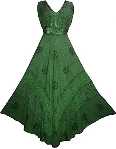 1011 DR Romantic Evening Empire Victorian Sleeveless Dress (L, E. (Egr Fitting)