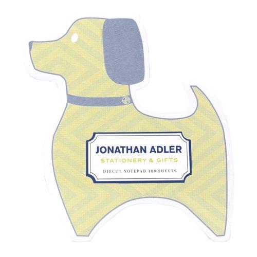Jonathan Adler Die Cut Notepad - (Die Cut Self Stick Notepad)