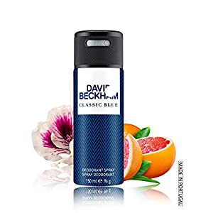 Beckham Classic Blue Deodrant Spray, 150 ml