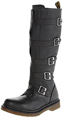 Dr. Martens Women's Phina Boot,Black,3 UK (US Women's 5 M)