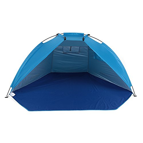 Hubry (TM) Quick Opening Tent Beach Awning Sun Shelter Half-Open Waterproof Tent Shade Ultralight for Outdoor Camping Fishing Picnic Park
