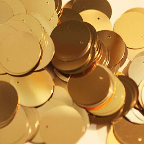 Darice Craft Designer Sequins - 20mm Gold ()