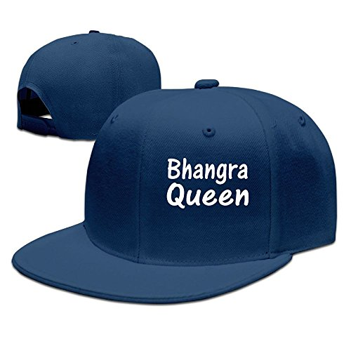 ZhiqianDF Men Bhangra Funny Golf Navy Cap Adjustable Snapback