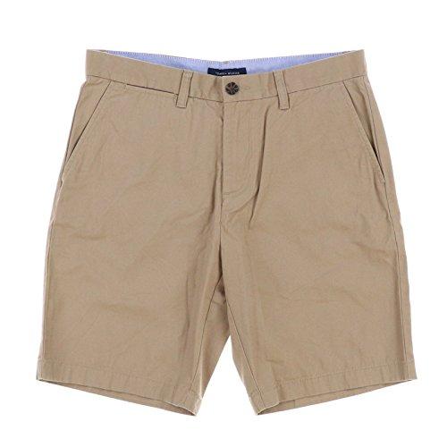 Tommy Hilfiger Mens 9 inch Inseam Shorts (38, Dark (Mens Tommy Hilfiger Khaki)