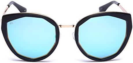 "PRIVE REVAUX ""The Artist"" Handcrafted Designer Geometric Polarized Sunglasses"