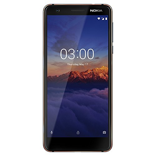 Nokia 3.1 - Android One (Oreo) - 16 GB - Dual SIM Unlocked Smartphone (AT&T/T-Mobile/MetroPCS/Cricket/H2O) - 5.2