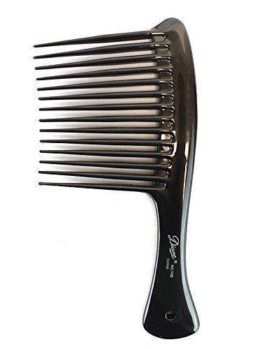 Brush Rake (Diane Rake/Rage Comb Black, Hair detangler, hair brush, detangler, pulls out the knots in your hair, won't pull your hair)