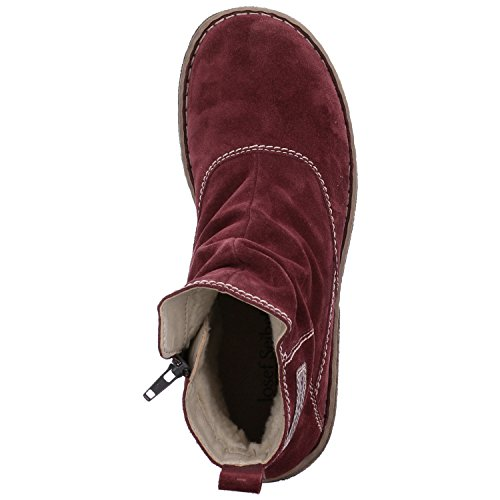 Red 38 Ankle Women's Bordo 410 Boots Josef Neele Seibel vFUBBq