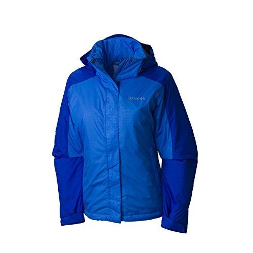 Columbia Women's Plus-Size Gotcha Groovin Jacket, Blue Macaw, 3X