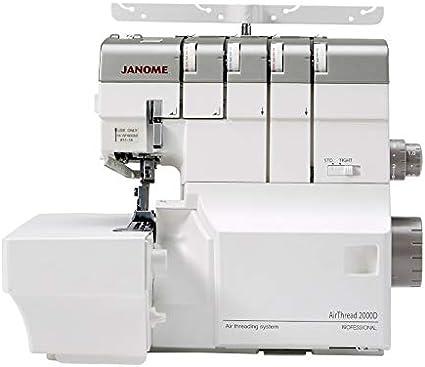 Janome AirThread 2000D PROFESSIONAL - Sobrebloqueo, 4 hilos, con ...