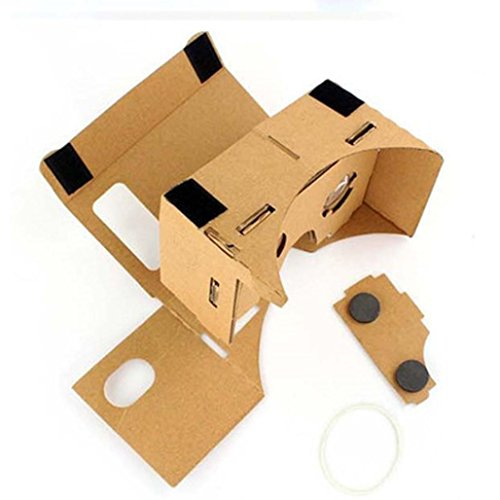 AutumnFall® DIY Cardboard Quality 3D Vr Virtual Reality Glasses 2016