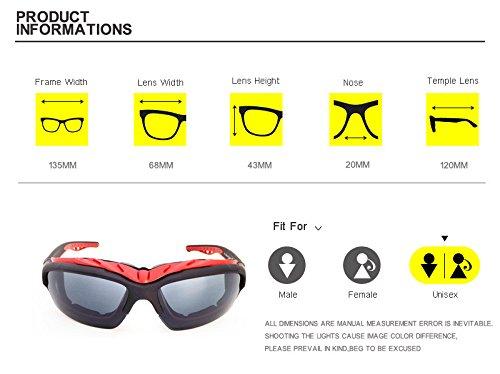 de vent plein miroir C3 Red Gafas soleil AT1208 Zygeo Hommes soleil C7 oculos de de Lunettes anti Lunettes air Blanc Cool Lunettes Femmes r¨¦fl¨¦chissant RvcCq1ZCUp