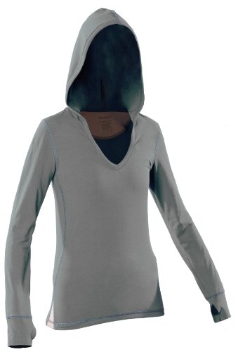 Women's Yoga Hoody (Large, Gray) by KINISI(TM)