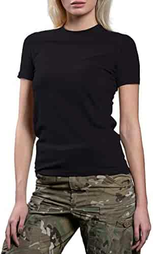dfad146bf 281Z Womens Military Stretch Cotton Underwear T-Shirt - Tactical Hiking  Outdoor - Punisher Combat