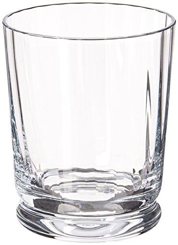 Reed & Barton 7510/4282 4 Piece Heritage Austin Crystal DOF Glass Set, Clear