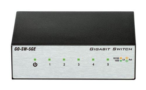 D-Link 5-Port Unmanaged Gigabit Metal Desktop Switch (GO-SW-5GE), Best Gadgets