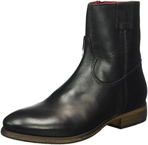 Buffalo London ES 30842 Garda, Stivali a metà Polpaccio con Imbottitura Leggera Donna Nero (Nero (Preto 01))