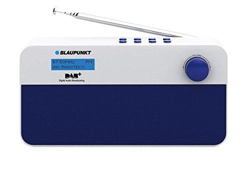 Blaupunkt RXD 10 WH Digitalradio mit UKW-Teleskopantenne (DAB+, Netz/Batteriebetrieb)