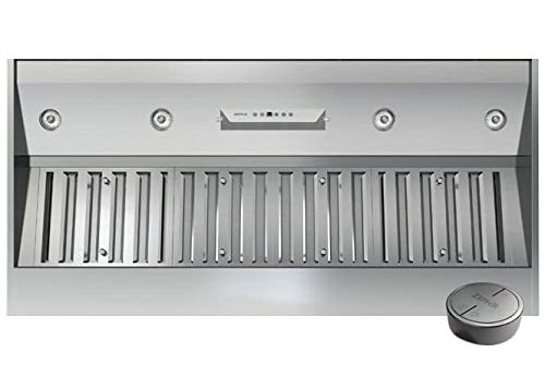 Zephyr AK9352AS 1200 CFM 54 Inch Wide Insert Range Hood with Halogen Lighting an, Stainless Steel