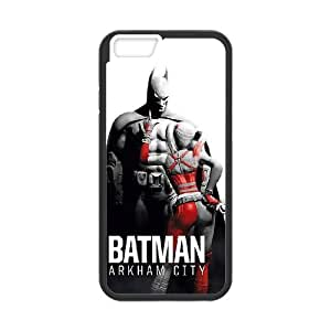 Popular And Durable Designed TPU Case with Batman Batman For iPhone 6 4.7 Inch Cell Phone Case Black