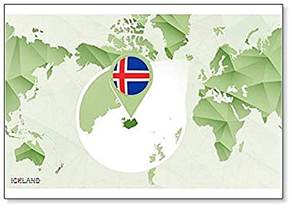 Amazon.com: World Map with Magnified Iceland Map ... on austria map of the world, kenya map of the world, greenland map of the world, colombia map of the world, cape verde islands map of the world, panama map of the world, persian gulf map of the world, united arab emirates map of the world, bahamas map of the world, easter island map of the world, equatorial map of the world, lappland map of the world, reykjavik map of the world, ukraine map of the world, alaska map of the world, guatemala map of the world, california map of the world, scotland map of the world, central african republic map of the world, amazon basin map of the world,