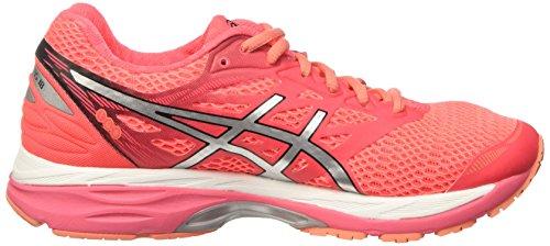Asics Gel-Cumulus 18, Zapatillas de Gimnasia para Mujer Rosa (Diva Pink/silver/coral Pink)