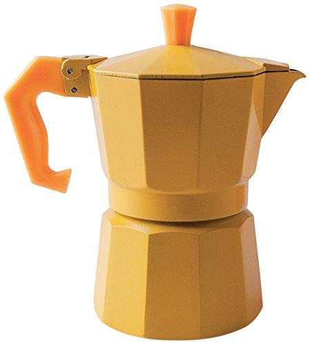 Excelsa «Chicco Color Amarillo cafetera de 3 Tazas