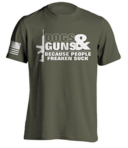Dog Person T-shirt (Bang Bang Apparel Men's