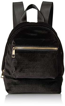 The Fix Piper Mini Velvet Backpack