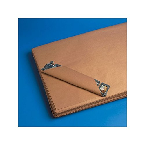 Box Packaging Recycled Kraft Paper Sheets, 50#, 18'' x 18'' 50 lb Bundle