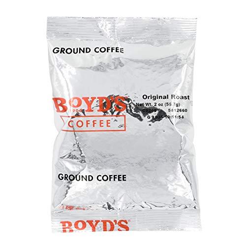 Boyd's Orginal Roast Coffee - Ground Medium Roast - 2-Oz Portion Packs (Pack of 60) from Boyds Coffee