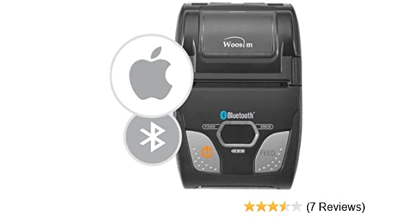 Woosim wsp-r241 - paypal here compatible receipt printer - for use with  paypal here bluetooth reader - By Pac Supplies USA !