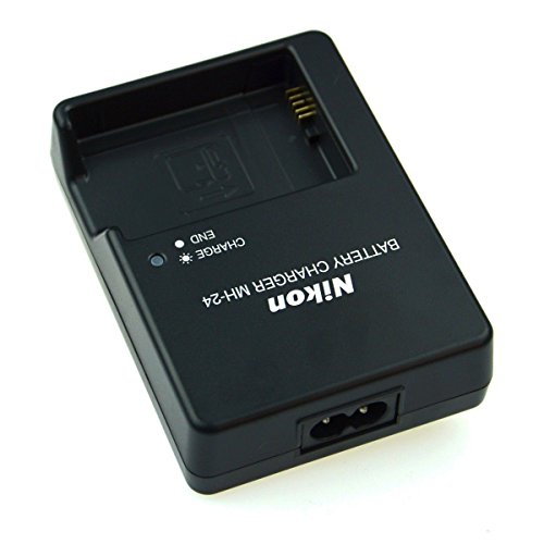 MH-24 Charger For Nikon EN-EL14 Battery D3100 D5100 D5200 D5300 D3200 D3300 P7100 P7000 DSLR Digital Cameras (Bulk Packing)