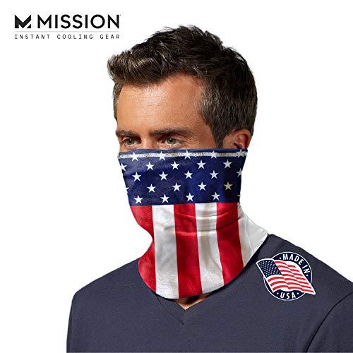 UV Protecter New Mexico Flag Fishing Sport Face Neck SUN GAITER Mask UPF 50